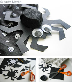 Halloween Craft Ideas Construction Paper on Gcc Games Crafts Coloring   Halloween Crafts   Halloween Spider