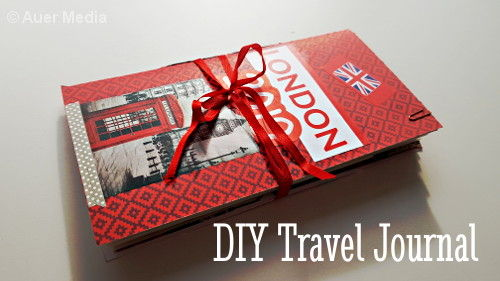 London Travel Journal & DIY Traveler's notebook