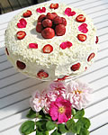 Birthday cakes - Sleeping Beauty´s strawberry cake