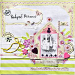 Scrapbooking - Scrapbook layout Backyard Princesses