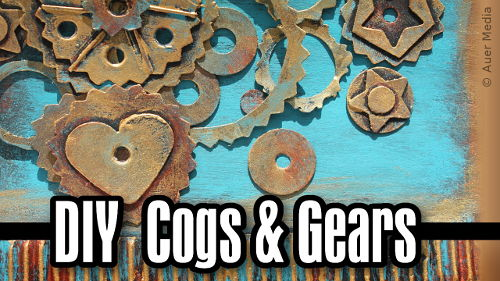 Diy Cogs and Gears & Steampunk Card